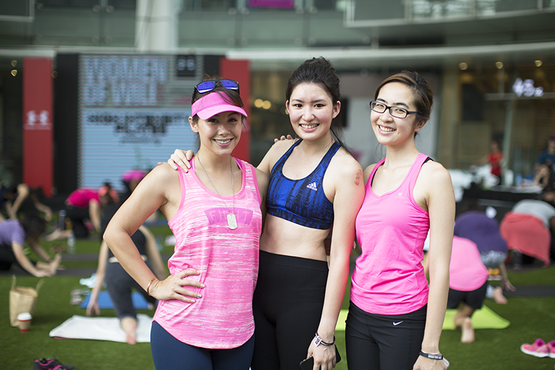 ashlogue_under_armour_singapore_womenofwill_2015_capitol_piazza_yoga_pilates_breast_cancer_campaign_power_in_pink_kelly_latimer_tv_host.png
