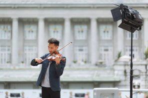Ashlogue Chats With Josh Kua: The Charming Violinist