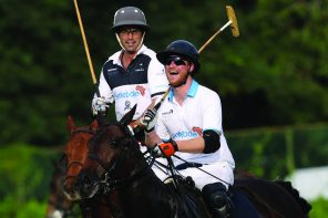 Prince Harry and BMW at the Sentebale Royal Salute Polo Cup, Singapore